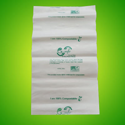 Biocompostable mulch bags shopping bags